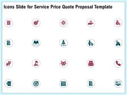 Icons Slide For Service Price Quote Proposal Template Ppt File Formats