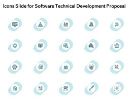 Icons Slide For Software Technical Development Proposal Ppt Model
