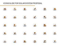 Icons Slide For Solar System Proposal Ppt Powerpoint Presentation Summary File Formats
