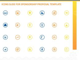 Icons Slide For Sponsorship Proposal Template Ppt Powerpoint Presentation Deck