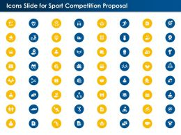 Icons Slide For Sport Competition Proposal Ppt Powerpoint Presentation Guide