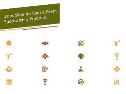 Icons Slide For Sports Event Sponsorship Proposal Ppt Powerpoint Presentation Slides