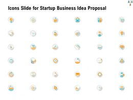 Icons Slide For Startup Business Idea Proposal Ppt Powerpoint Presentation Inspiration Guide