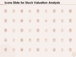 Icons Slide For Stock Valuation Analysis Ppt Powerpoint Presentation Inspiration Good
