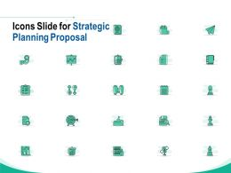 Icons Slide For Strategic Planning Proposal Ppt Powerpoint Presentation Layouts