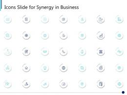 Icons Slide For Synergy In Business Ppt Pictures