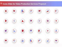 Icons Slide For Video Production Services Proposal Ppt File Elements