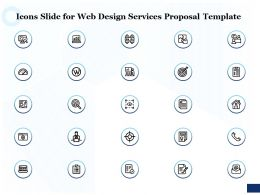 Icons Slide For Web Design Services Proposal Template Ppt Powerpoint Formats