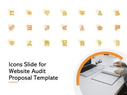 Icons Slide For Website Audit Proposal Template Ppt Powerpoint Presentation Templates