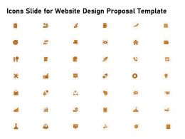 Icons Slide For Website Design Proposal Template Ppt Powerpoint Portfolio