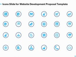Icons Slide For Website Development Proposal Template Ppt Powerpoint Presentation Model Visuals