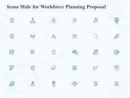 Icons Slide For Workforce Planning Proposal Ppt Powerpoint Presentation Show