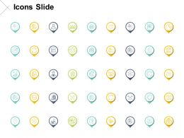 Icons Slide Growth Strategy Ppt Powerpoint Presentation Pictures Icons