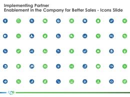 Icons Slide Implementing Partner Enablement Company Better Sales Ppt Pictures Layout Ideas