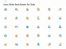 Icons Slide Real Estate For Sale Ppt Powerpoint Presentation Infographic Template Shapes
