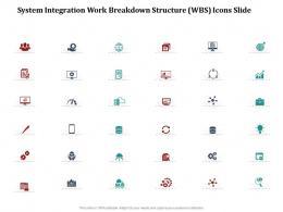 Icons Slide System Integration Work Breakdown Structure Wbs Ppt File Portfolio