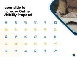 Icons Slide To Increase Online Visibility Proposal Ppt Powerpoint Presentation Sample