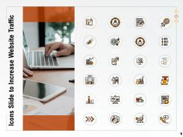 Icons Slide To Increase Website Traffic Ppt Powerpoint Presentation Slides Icons