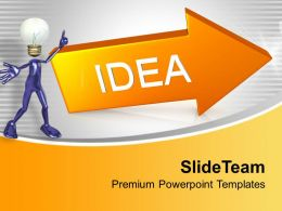 Idea Arrow Business Innovation Powerpoint Templates Ppt Themes And Graphics 0313