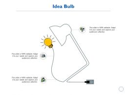 Idea Bulb Innovation Management K193 Ppt Powerpoint Presentation Model