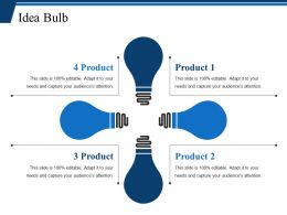Idea Bulb Ppt Deck