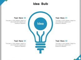 Idea Bulb Ppt Powerpoint Presentation File Infographic Template