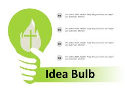 Idea Bulb Ppt Summary Graphics Download