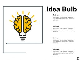 Idea Bulb Technology Ppt Professional Design Inspiration