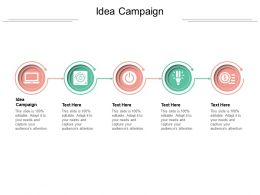 Idea Campaign Ppt Powerpoint Presentation Summary Example File Cpb