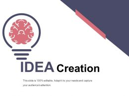 Idea Creation Presentation Graphics