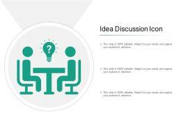 Idea Discussion Icon