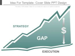 Idea For Template Cover Slide Ppt Design