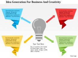 idea_generation_for_business_and_creativity_flat_powerpoint_design_Slide01