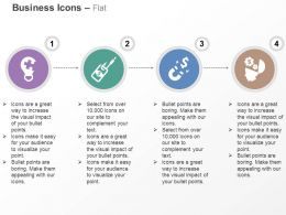 Idea Generation Hook Money Attract Currency Idea Process Flow Ppt Icons Graphics