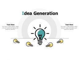 Idea Generation Innovation Management L464 Ppt Powerpoint Presentation
