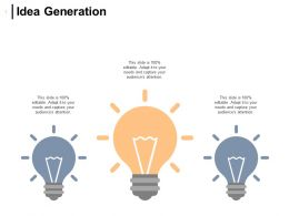 Idea Generation Innovation Management Ppt Powerpoint Presentation Icon Model