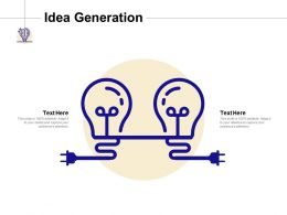 Idea Generation Knowledge F294 Ppt Powerpoint Presentation Show Design Templates