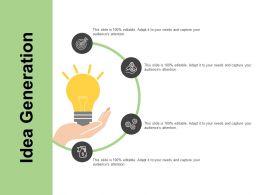 Idea Generation Knowledge K376 Ppt Powerpoint Presentation Icon Master