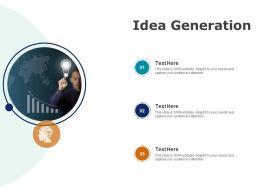 Idea Generation Planning Innovation Ppt Powerpoint Presentation File Grid