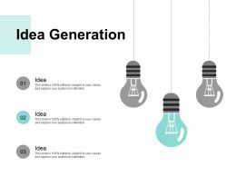 Idea Generation Technology B290 Ppt Powerpoint Presentation File Icon