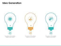 Idea Generation Technology C1050 Ppt Powerpoint Presentation Styles Show