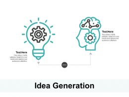 Idea Generation Technology C300 Ppt Powerpoint Presentation Gallery Portfolio