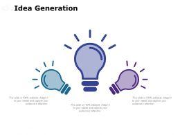 Idea Generation Technology C665 Ppt Powerpoint Presentation File Styles