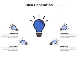 Idea Generation Technology C959 Ppt Powerpoint Presentation File Pictures
