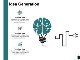 Idea Generation Technology Communications C202 Ppt Powerpoint Presentation Outline Gallery