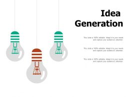Idea Generation Technology I480 Ppt Powerpoint Presentation Outline Layout Ideas
