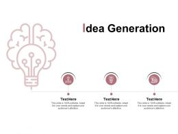 Idea Generation Technology Innovation E249 Ppt Powerpoint Presentation File Tips