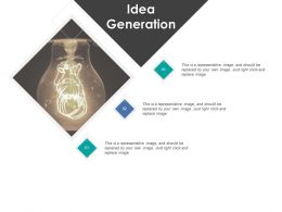 Idea Generation Technology Light E397 Ppt Powerpoint Presentation File Shapes