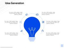 Idea Generation Technology Marketing C833 Ppt Powerpoint Presentation Show Graphics Tutorials