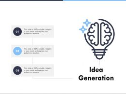Idea Generation Technology Ppt Powerpoint Presentation Ideas Background Image